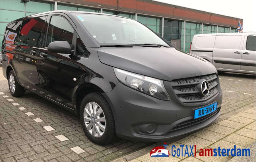Gotaxi Amsterdam Mercedes Vito Taxi